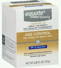 Equate Beauty Age Control Day Cream for Mature Skin, 2.5 fl oz SPF 15 Sunscreen