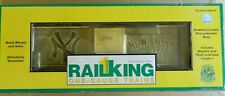 MTH Rail King 1 Gauge New York Yankees Boxcar Opening Doors New Ship FREE in US