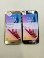 lot of 2 Samsung Galaxy S6 G920V Verizon Check Imei Poor Condition Hs-1668