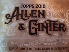 2018 Allen & Ginter Baseball Hot Box Glossy ~ Lot of 115 ~ Great Starter Set