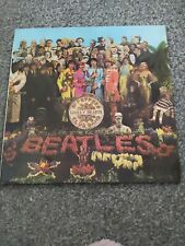 THE BEATLES - Sgt Pepper Lonely Hearts Club Band 1ST PRESS Vinyl & Cut Outs MONO