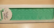 SILICONE MAT MOULD FOR CREATING EDIBLE SUGAR CAKE DECORATING LACE