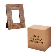 Tawa One Wood Handicraft photo frame Made From Wood Color: Brown for  Table