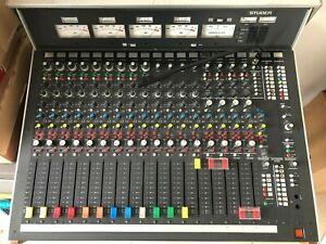 Studer 962 Mischpult 4-Kanal-VU-COR, CR Monitor und AUX Unit Studio Monitor Box