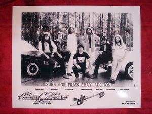 ALLEN COLLINS BAND ONLY PROMOTIONAL PHOTO FROM MCA RECORDS * LYNYRD SKYNYRD