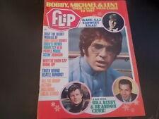 Dark Shadows, Bobby Sherman, George Harrison - Flip Magazine 1970