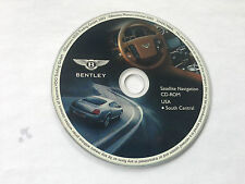 2004 2005 2006 Bentley Continental GT Flying Spur Navigation CD  South Central