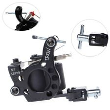 Professional Iron Tattoo Machine Gun 10 Wrap Coil Liner Shader Equipment Kit New