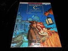 Dufaux / Griffo : Giacomo C 1 : Le masque dans la bouche d'ombre EO Glénat 1988