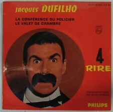 Jacques Dufilho 45 tours Vol 4