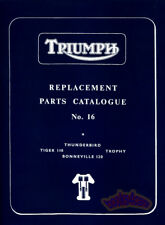 TRIUMPH 650 PARTS MANUAL CATALOGUE SPARE BOOK