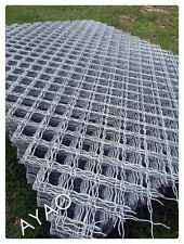 Hot Dipped Galvanized steel mesh fence panel 2m X3m