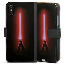Apple iPhone x bolso funda flip case-Sith Lightsaber