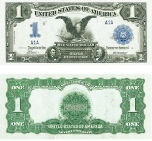 PREPRODUCTION $1dollar 1899 US note currency