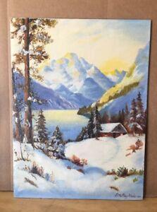 "1941 Ettamay Hale original painting"" 12x16 Fulton Canvas boards"