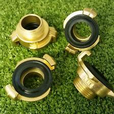 "3/4"" Male Geka fittings pk4 irrigation hose pipe sprays watering lances"