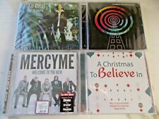 New and Sealed Lot of 4 Christian CD's...Mercy Me/ Toby Mac/J Smith/Christmas