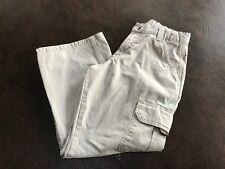 Boy's 10 Husky WRANGLER Jeans Cargo Pants Khaki