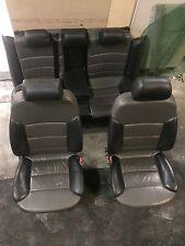 Audi A6 Allroad 4B Lederausstattung Sportsitze Sitze Avant schwarz