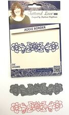 Tattered Lace Dies Cutting Die Adele Border Flower Floral Scrapbook Card Making