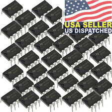 50x TEXAS INSTRUMENTS, NE555N, NE555, NE555P Timer/Oscillator (Single) IC 100kH
