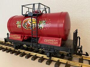 LGB 47400 :: Christmas / Seasons Greetings Tank Car G-Scale