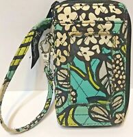 Vera Bradley All in One Wristlet Island Blooms Retired Wallet ID Phone Case
