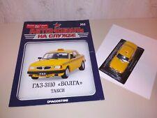 Auto on service DeAgostini #9 GAZ-3110 Volga taxi 1/43