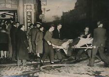 """BELGIQUE 1955 - Incendie Cinéma le """"Rio"""" Sauveteurs Victimes Sclessin - PR 516"""