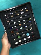 20 pcs. wire wrapped handmade rings wholesale lot