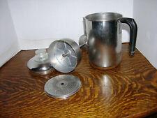 😎 Vtg Revere Ware Coffee Pot Percolator Stove Top Copper Clad