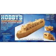 Matchmodeller Canal Narrow Boat Matchstick Kit MM26