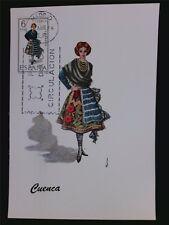 SPANIEN MK 1968 TRACHTEN CUENCA COSTUMES MAXIMUMKARTE MAXIMUM CARD MC CM c5546