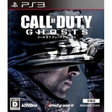 Used PS3 Call of Duty ghostJapa Imported