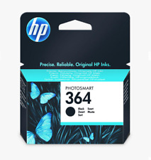 HP 364 Photosmart Ink Cartridge, Standard Black, CB316EE, NEW GENUINE SEALED.