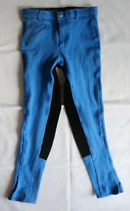 blaue Reithose mit Vollbesatz  Gr.146      von Pfiff