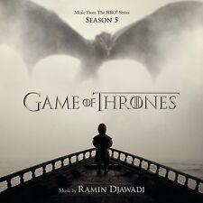 LE TRONE DE FER SAISON 5 (GAME OF THRONES) MUSIQUE SERIE TV - RAMIN DJAWADI (CD)