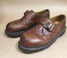 Vintage Dr Martens Brown Buckle Mary Janes 2039 England Woman's 8