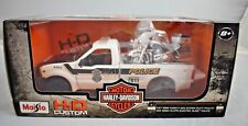 Maisto 1999 Ford F 350 Pick Up mit HD 2004 FLHPI Electra Glide in 1:27 Neu & OVP