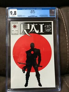 Rai #0 CGC 9.8 Matte White pages Valiant  1st  Bloodshot Movie Vin Diesel