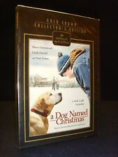 A Dog Named Christmas•Hallmark•Hall of Fame•Gold Crown (DVD, 2010) New!•Sealed!