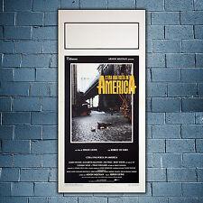 Locandina Originale C'era Una Volta In America - 33x70 CM - Sergio Leone