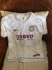 nike aston villa england premier league soccer jersey size XL youth