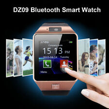 Bluetooth Wrist Watch Camera Smart Phone DZ09 SIM Card for Android IOS Phones