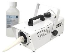 FXLAB White Snow Storm II Artificial Snow Effects Machine & Remote & 1 x Fluid