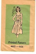 """1970s Vintage Anne Adam's Pattern Women's WRAP DRESS 4602 Size 12 Bust 34"""" UNCUT"""