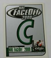 1999-00 Upper Deck HoloGrFX NHL FaceOff 2000  C   Expired Game Card