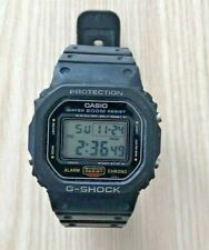 VINTAGE CASIO G-Shock DW-5600 (691) Japan H Watch Stainless Case Missing Keeper