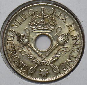 New Guinea 1938 Shilling 294545 combine shipping