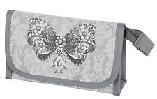 Mathilde M Make Up Pouch With Mirror Lecon D'elegance Small Cosmetic Case Gift